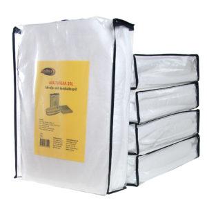 Akutväska för 20 liter oljespill, 10-PACK