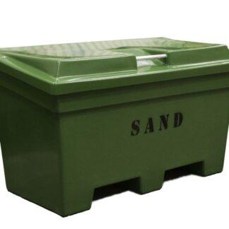 Sandlåda 320L med lock glasfiber